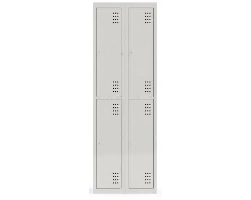 Одежный металлический шкаф СОШ-600-4